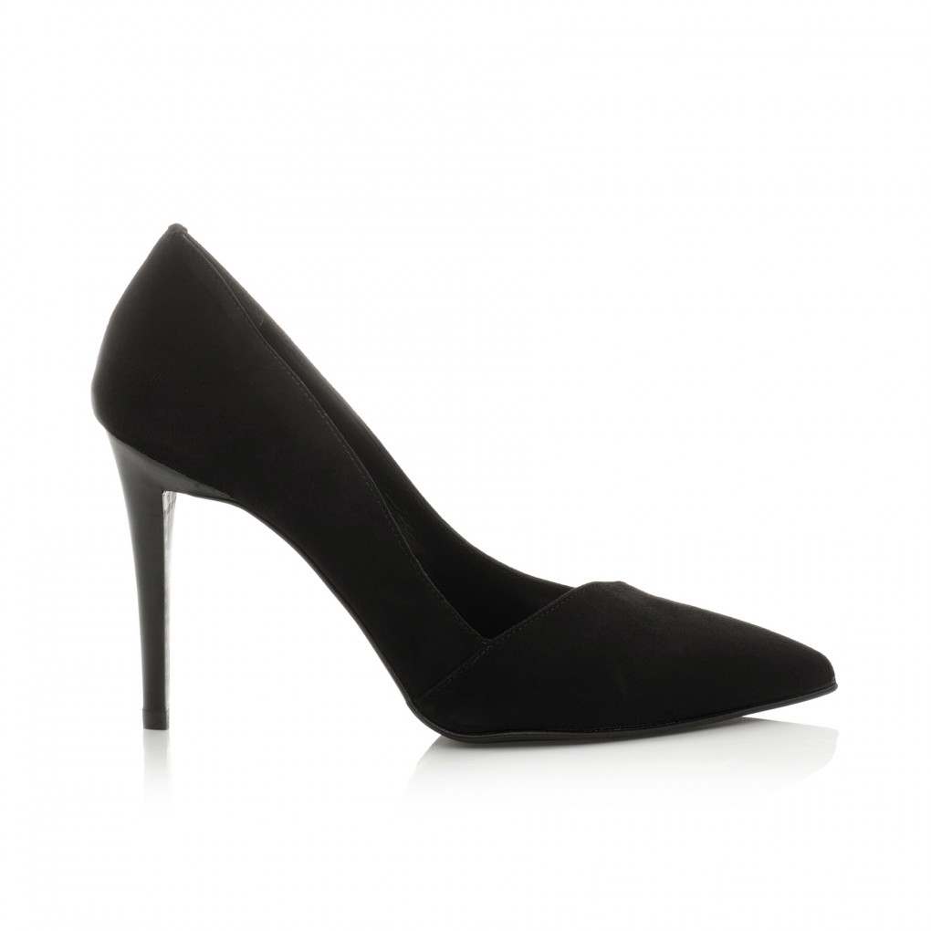 Pointy Suede Stiletto