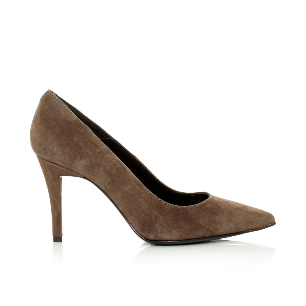 Brown stiletto