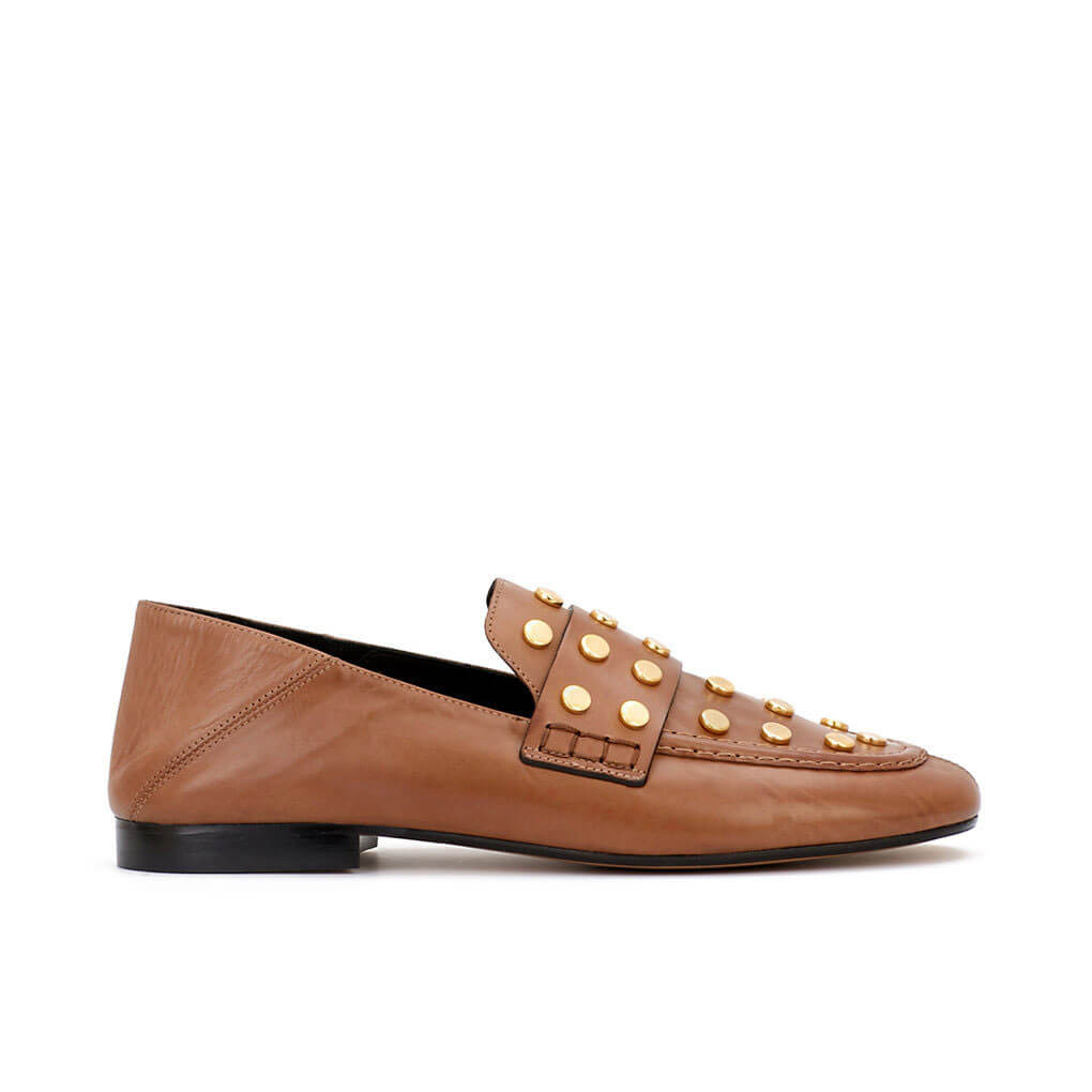 Feenie Loafers Brown