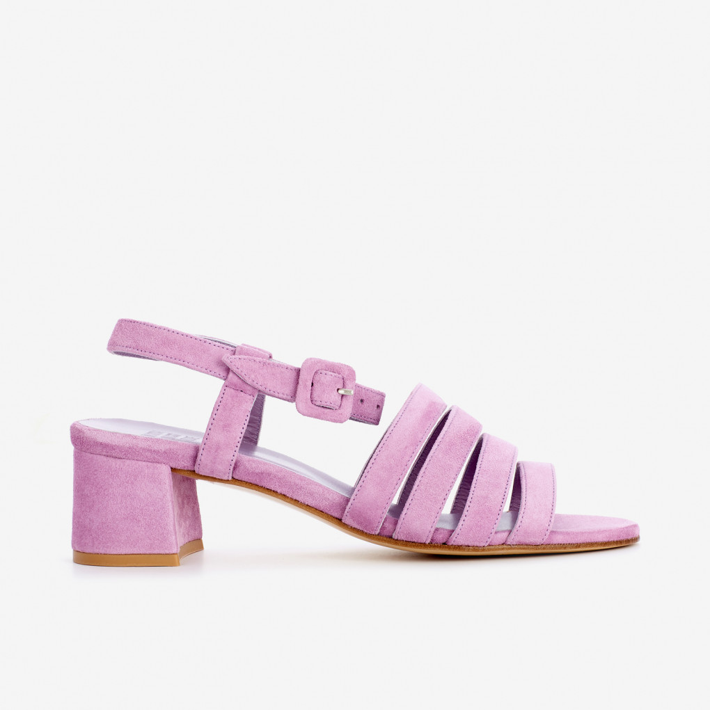 Lavender Palma Low Sandals