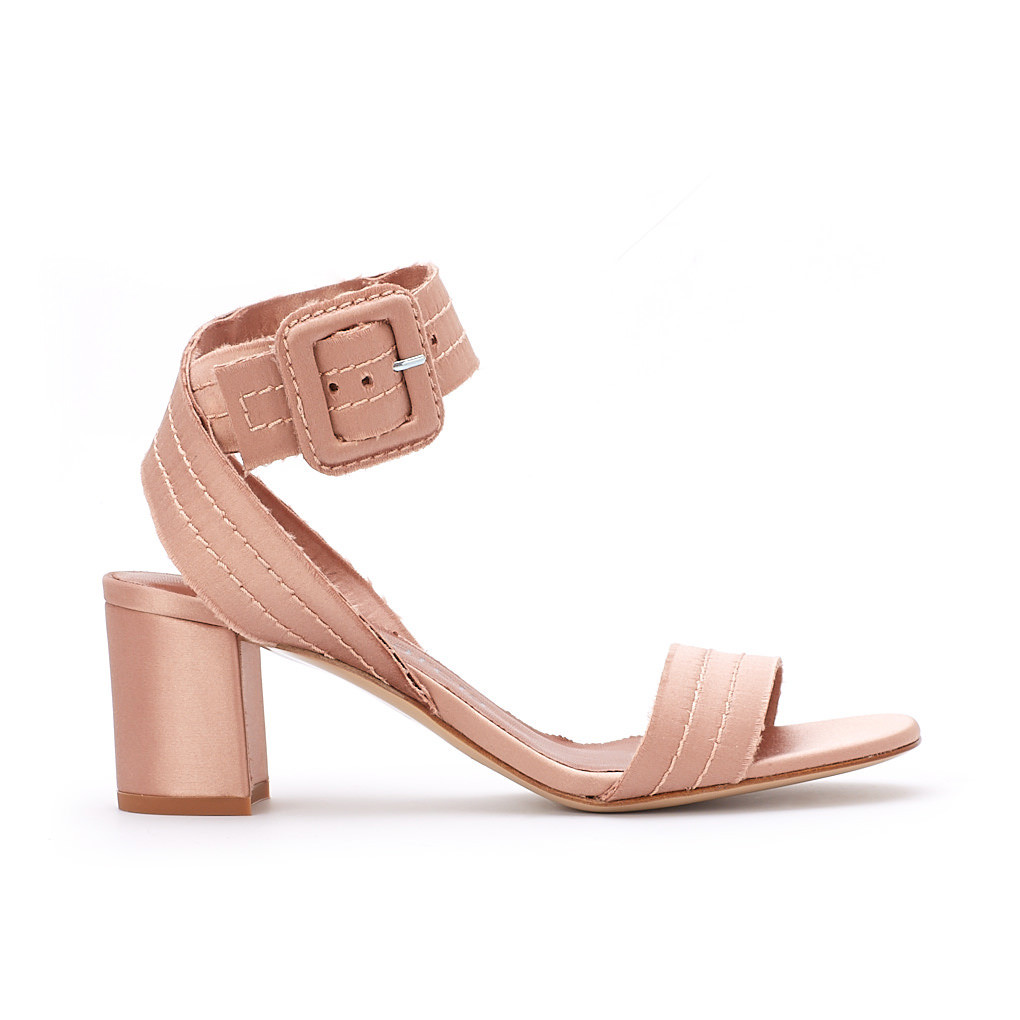Xabell Satin Sandal Bisque