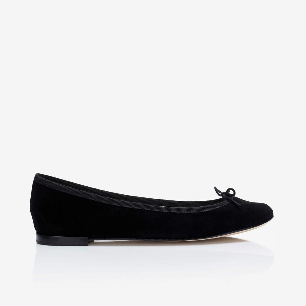 Cendrillon black suede