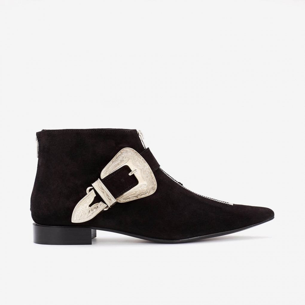 Pointed Toe Low Boot