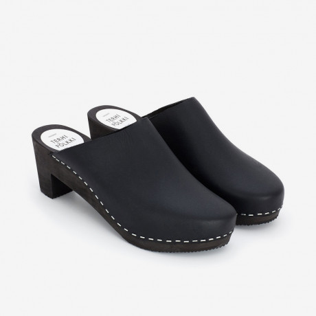 Cat Clog Black