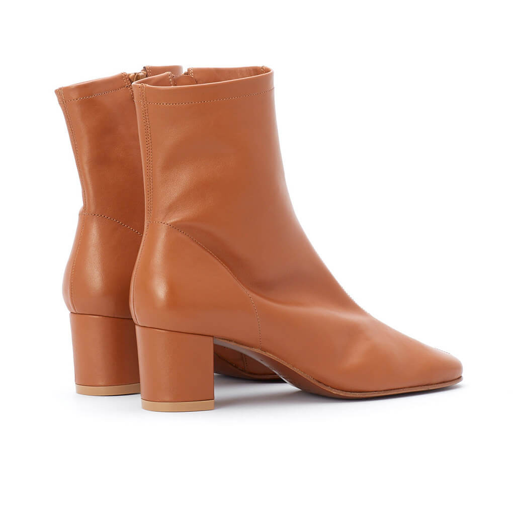 By Far Sofia Boots Brown Minimal Nordic
