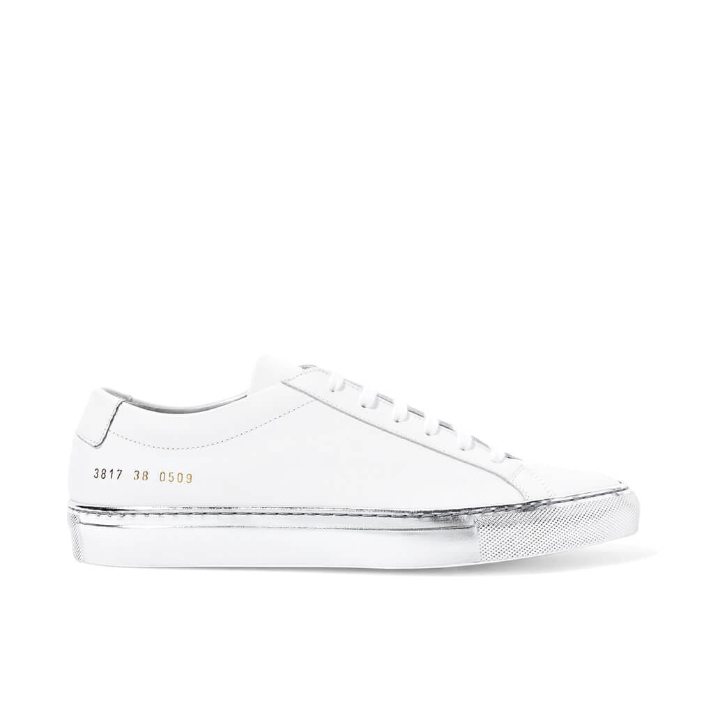 401ce5643b COMMON PROJECTS | Achilles Low White Silver Sole | Minimal Nordic